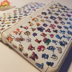 Custom Pokemon second generation New3DS cover