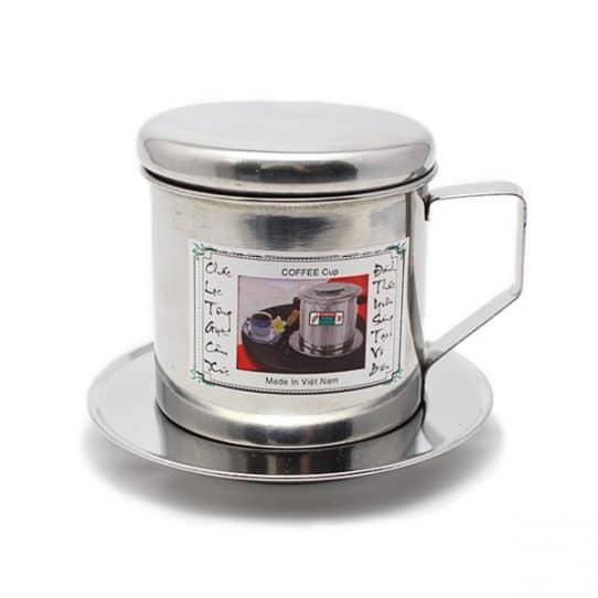 Filtre à café vietnamien Face Filtre à café en inox