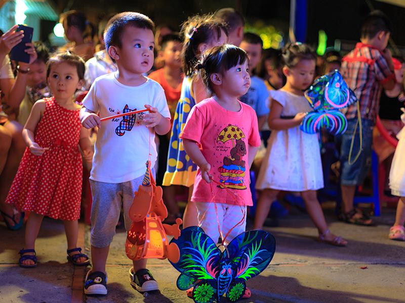 La fête de la Lune et des enfants au Viêt Nam
