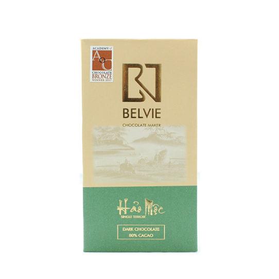 Chocolat noir Belvie Hao Moc 80%