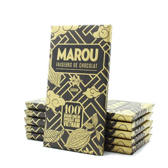 Chocolat noir MAROU 100% Tablette