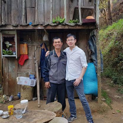 Café vietnamien moulu Printemps de Đà Lạt avec le producteur