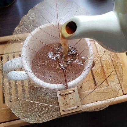 Filtre à thé Feuille de Bodhi Comment utiliser