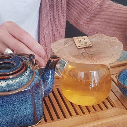 Filtre à thé Feuille de Bodhi Utilisation