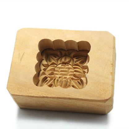 Moule à Gâteau de Lune en bois carré