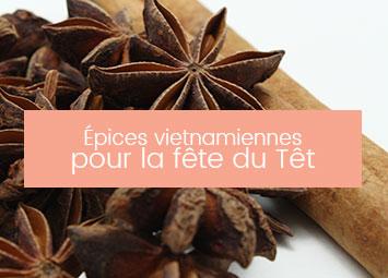 Épices vietnamiennes têt