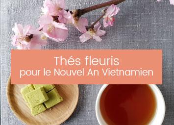 Thés fleuris Nouvel An Vietnamien