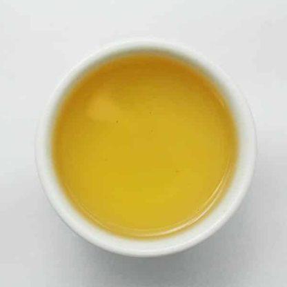 Thé vert Shan Tuyet aux fleurs de jasmin Phénix d'Automne Liqueur
