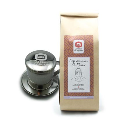 Pack Découverte Café du Vietnam et filtre à café vietnamien